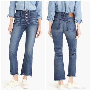 """J. Crew Point Sur 10"""" Demi Boot  Denim Blue Jeans"""